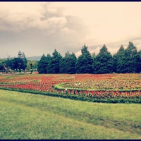 Photo taken at Taman Bunga Nusantara by chindy l. on 12/16/2012