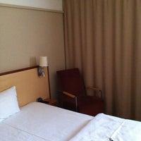 Photo taken at Hotel Østerport by Mikhail B. on 3/1/2013