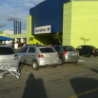 Photo taken at Carrefour by Kahira R. on 1/17/2013