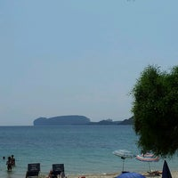 Photo taken at Spiaggia di Mugoni by Barbara on 7/20/2013