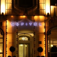 Photo taken at Sofitel Berlin Gendarmenmarkt by Phil T. on 1/7/2013
