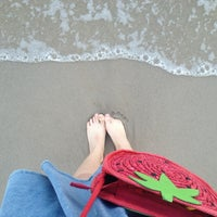 Photo taken at Private Beach by Mnsnan A. on 3/12/2013