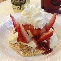 Photo taken at Pancake Café by Mnsnan A. on 2/28/2013