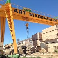 Photo taken at ART MADENCİLİK by Ömer C. on 6/13/2014