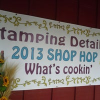 Photo taken at Stamping details by Joanna V. on 7/26/2013