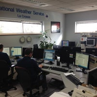 Photo taken at National Weather Service by Mark B. on 11/18/2013