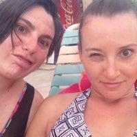 Photo taken at Days Inn Palm Springs by Mel R. on 7/5/2014
