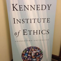 Foto tomada en Kennedy Institute of Ethics, Georgetown University  por Charlotte S. el 1/19/2014