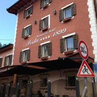 Photo taken at Romantic Hotel Posta 1899 by Tommy C. on 5/12/2013