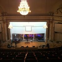 Photo taken at First Corinthian Baptist Church by Rocio F. on 11/18/2012