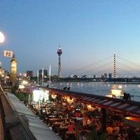 Photo taken at Rheinuferpromenade by Sergey D. on 7/21/2013