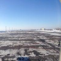 Photo taken at Взлетно-посадочная полоса / Runway by Sergey D. on 2/1/2014