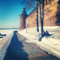 Снимок сделан в Нижегородский кремль пользователем Ta T. 3/29/2013