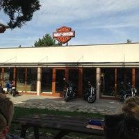 Photo taken at Harley Davidson Šalamounka Club by Серега H. on 8/7/2013