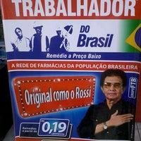 Photo taken at Farmacia do Trabalhador do Basil by Sayonarah C. on 5/18/2013
