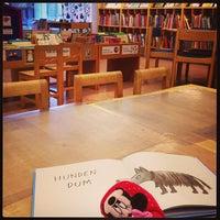 Photo taken at Stadsbiblioteket by Dimitrios K. on 1/15/2013