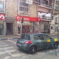 Photo taken at Albafone Strugë by Albert N. on 2/28/2014