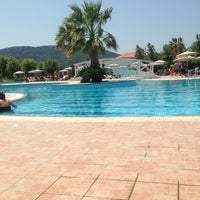 Photo taken at Pool at Electra Palace Rhodes by Lien D. on 7/18/2013