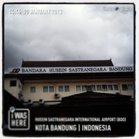 Photo taken at Husein Sastranegara International Airport (BDO) by T&A on 1/10/2013