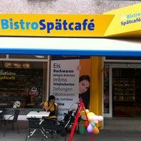 Photo taken at Eis Bistro Spätcafé by Karina on 7/4/2013