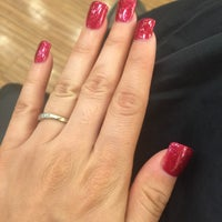 Photo taken at Happy Nails by Rosa H. on 2/19/2016
