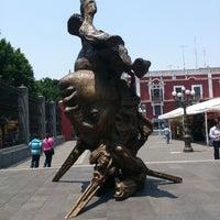 Photo taken at Templo de Santo Domingo by Julio S. on 5/19/2013
