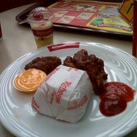 Photo taken at Richeese Factory by Evelyn R. on 4/19/2013