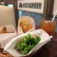 Photo taken at MOS Burger by Gavin S. on 10/20/2017