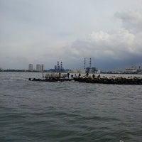 Photo taken at Pelabuhan Muara Angke by Dece C. on 2/17/2013