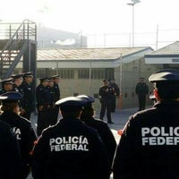 Photo taken at Destacamento Policia Federal Puebla by Notario C. on 5/12/2016