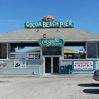 Photo taken at Cocoa Beach Pier by Lauren L. on 1/16/2013