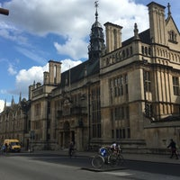 Photo taken at Oxford University Examinations Schools by Kurt C. on 4/27/2016