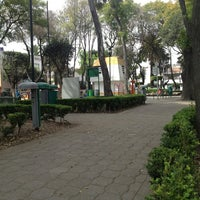 Photo taken at Parque José Mariano Muciño by Gina R. on 1/21/2013