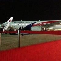 Photo taken at MAS Hangar 6 AMU Line 4 by Jasper H. on 1/30/2013