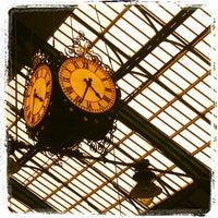 Photo taken at Brighton Railway Station (BTN) by Patricia L. on 10/23/2012