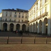Photo taken at Piazza Vittorio Veneto by Olga U. on 1/3/2013