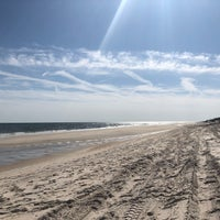 Photo taken at Fire Island Pines Beach by Kate 💎 K. on 4/21/2018