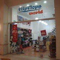 Photo taken at Flipflops world by Sergio L. on 1/14/2013
