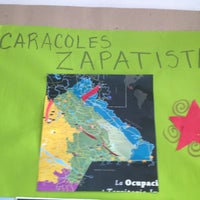 Photo taken at Rincon Zapatista by Andrea R. on 8/3/2013