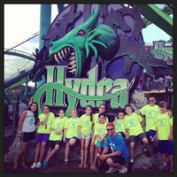 Photo taken at Hydra: The Revenge by Marissa G. on 7/30/2013