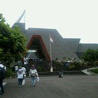 Photo taken at Museum Gunung Api Merapi by Anis H. on 4/13/2014
