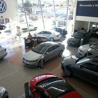 Photo taken at Volkswagen Potosina by Thomas A. on 1/27/2014