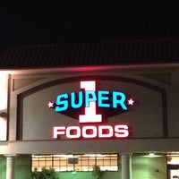 Photo taken at Super 1 Foods by Chris T. on 10/7/2014