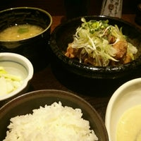 Photo taken at 鳥元 コラル三鷹店 by Yone T. on 4/2/2014