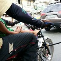 Photo taken at F. Manalo Street by Julius D. on 1/9/2013