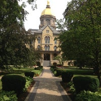 Photo taken at University of Notre Dame by Bobby M. on 7/21/2013