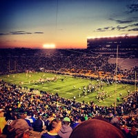 Photo taken at Notre Dame Stadium by Bobby M. on 10/19/2013
