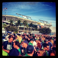 Photo taken at ND 'Ship Tailgate by Bobby M. on 1/8/2013