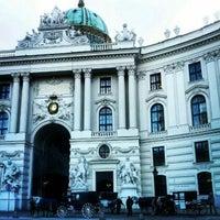 Photo taken at Hofburg by Seyed M. on 2/11/2013