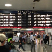 Photo taken at New York Penn Station (NYP) by Sahil J. on 7/11/2013